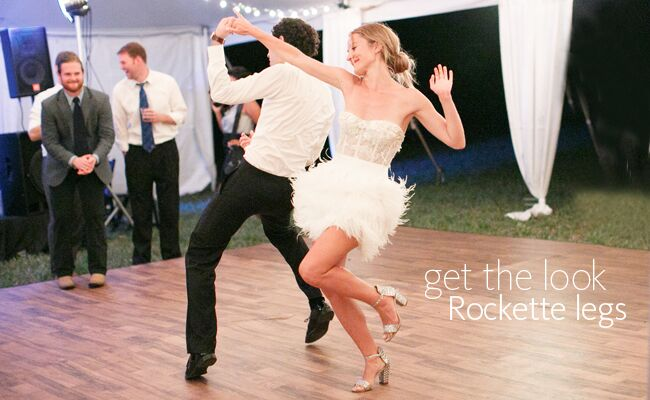 Want Fit Legs on Your Wedding? A Former Rockette Gives Us Workout Tips
