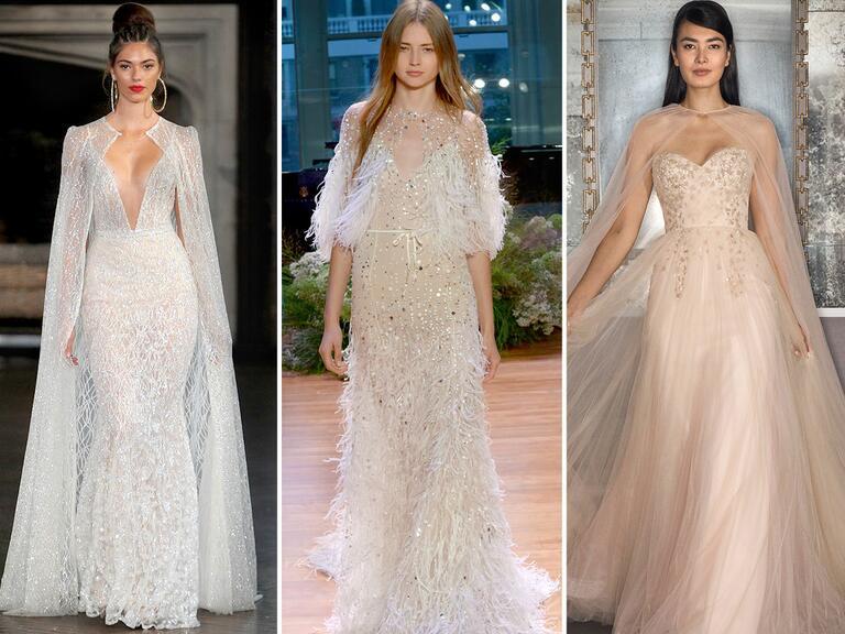 Wedding Dress Trends For Fall 2017 : Fall bridal fashion week wedding dress trends
