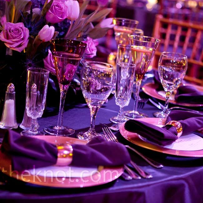 gold and purple wedding decor purple and gold decor 4519