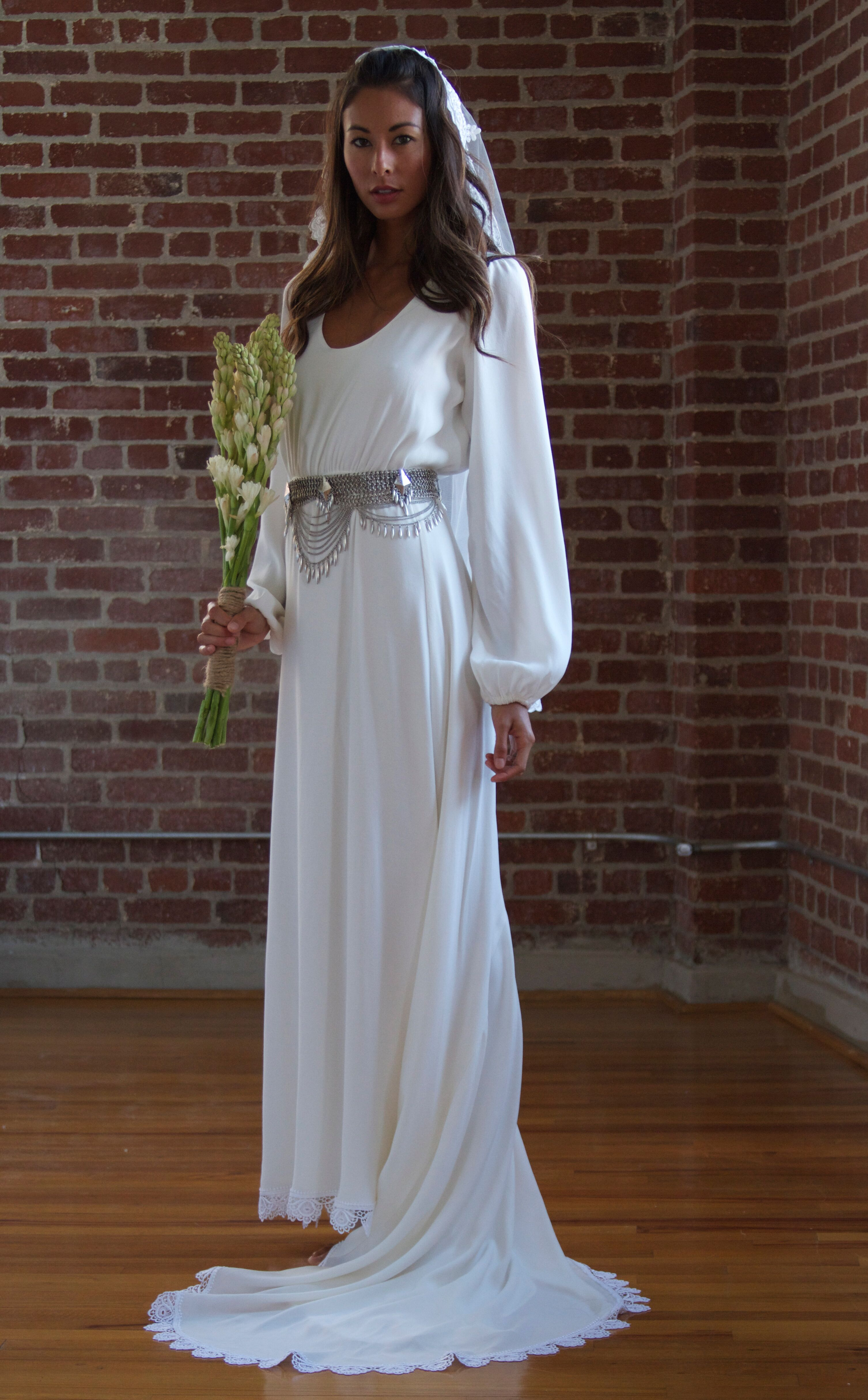 3b1022e91cc We re in Love With Stone Cold Fox s New Boho Wedding Dresses
