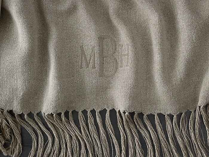 Restoration Hardware throw blankets