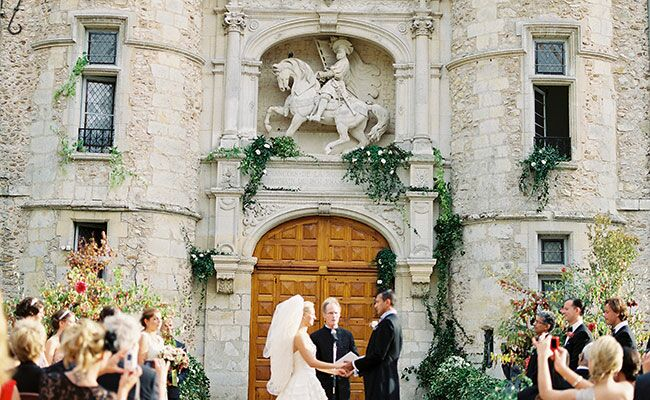 This Chateau Wedding in France Channels the Victorian Era… And We Love It