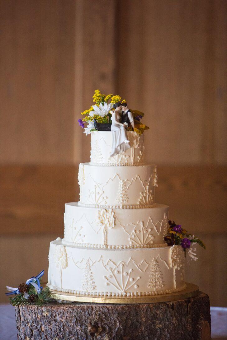 Jackson Wyoming Wedding Cakes
