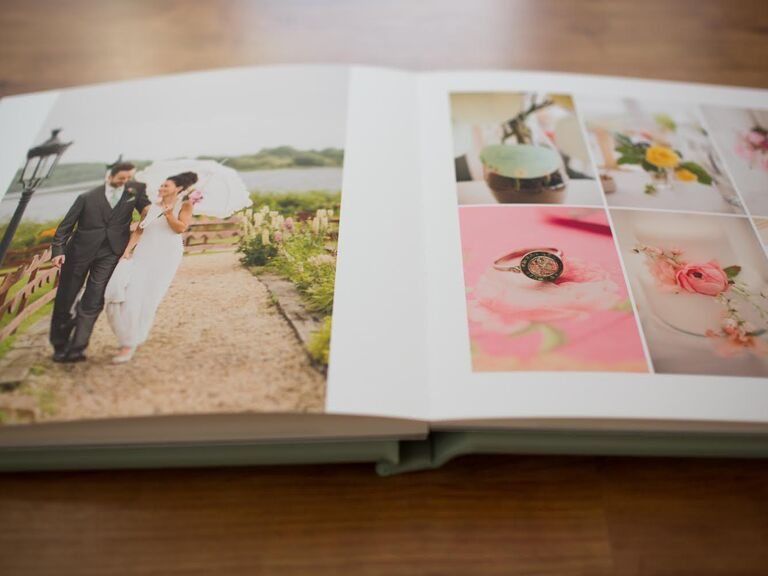 DIY Wedding Photo Album