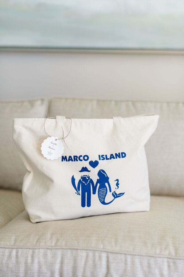 Mermaid- and Pirate-Themed Welcome Bags