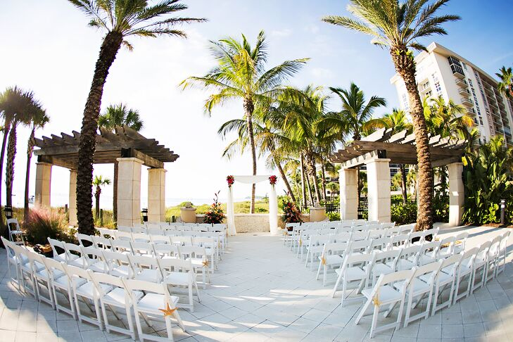 A Colorful Beach Wedding At The Ritz Carlton Sarasota Club In