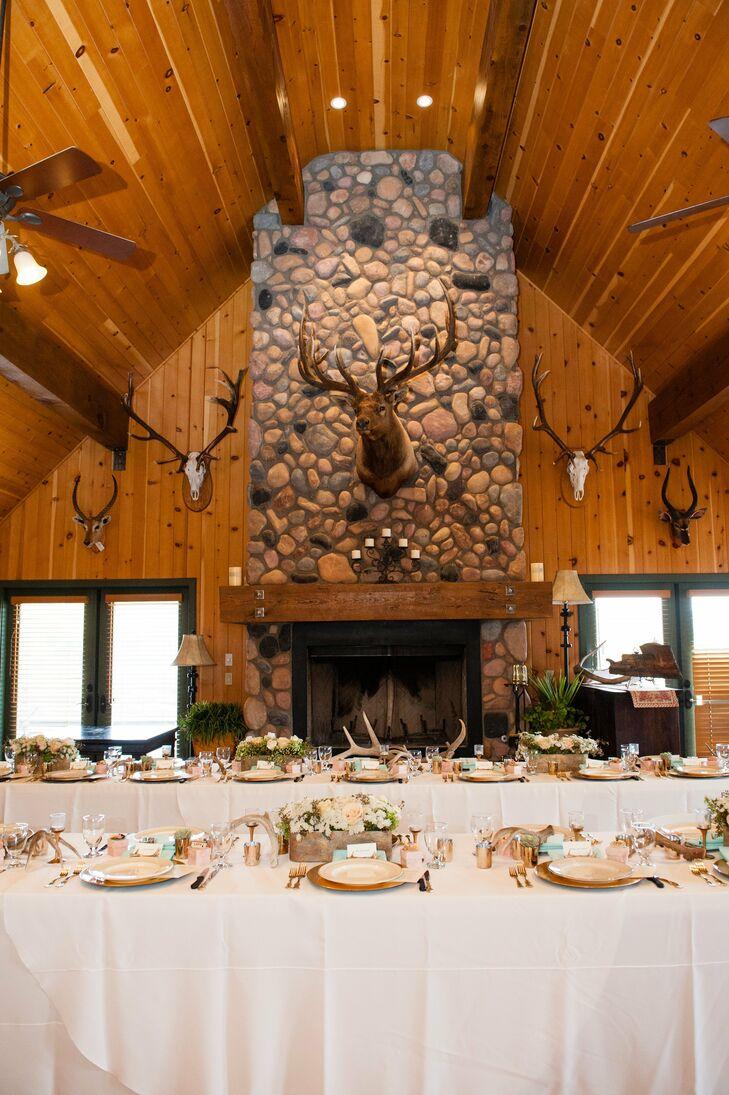 A Rustic Wedding At Cherry Creek Lodge In Young Arizona