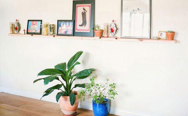DIY a Simple 2X4 Shelf for Extra Decor Space