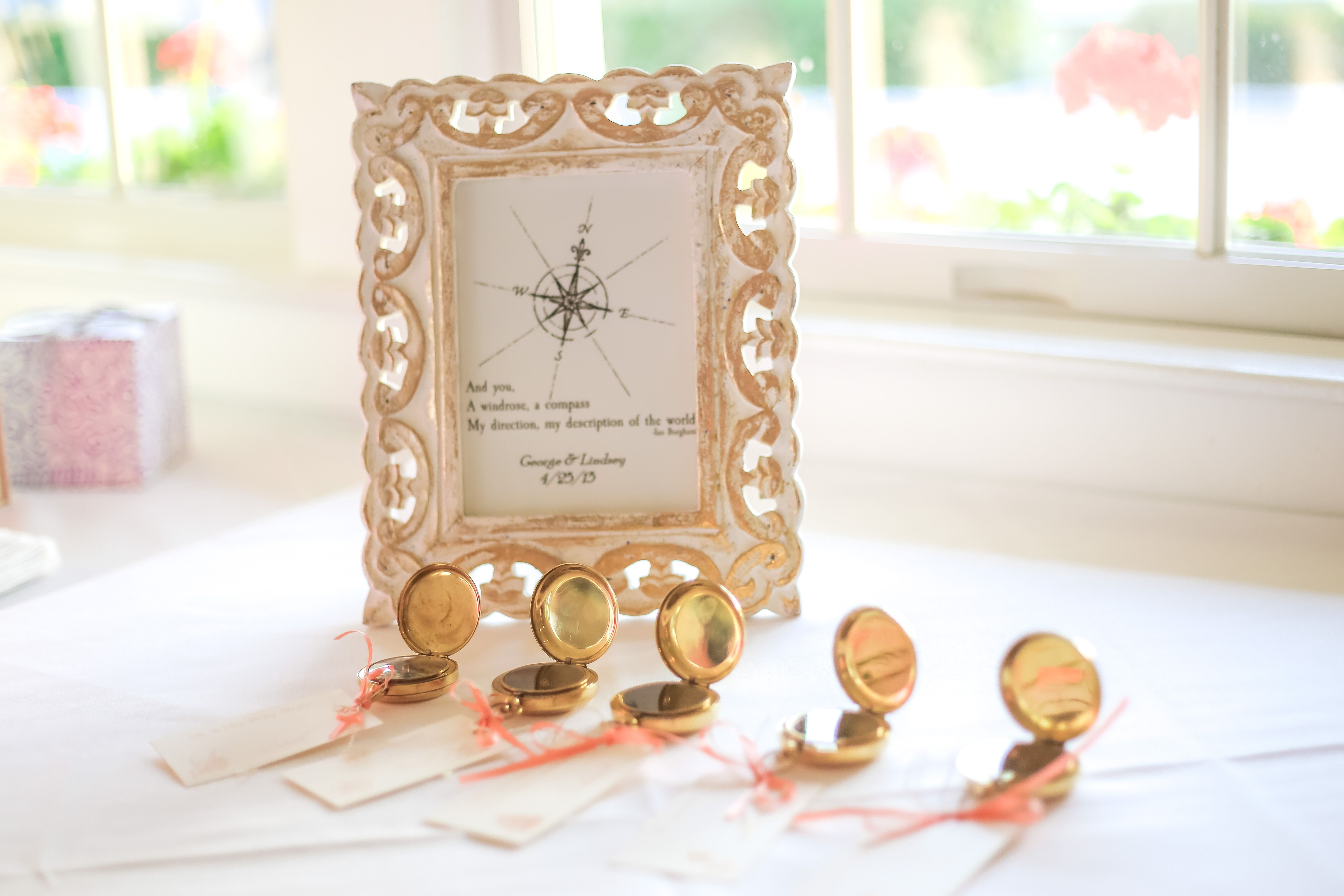 Nautical Wedding Gifts + Favors