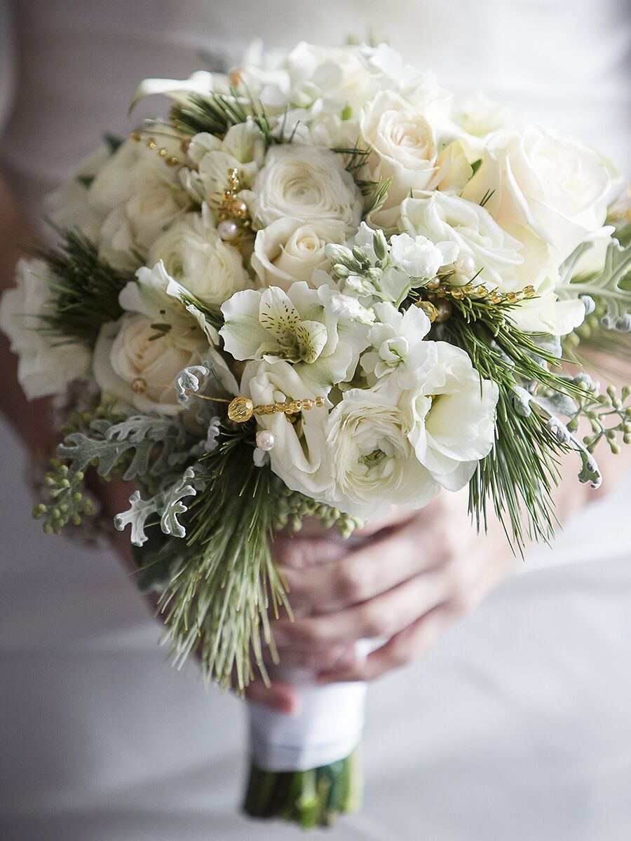 20 romantic white wedding bouquet ideas izmirmasajfo