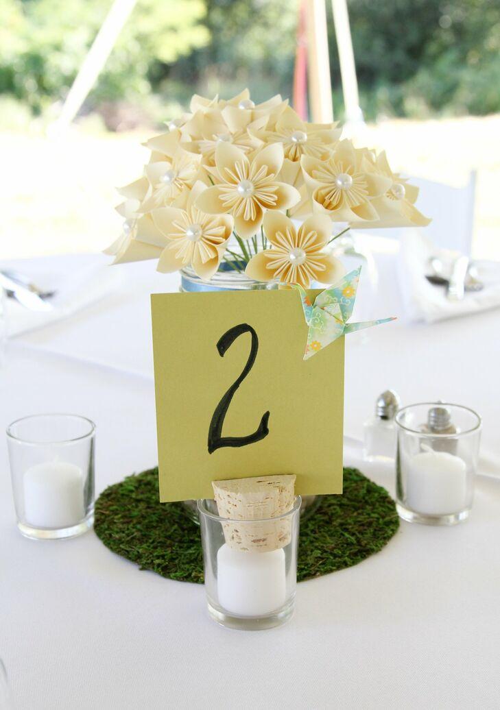 Paper Flower Centerpieces
