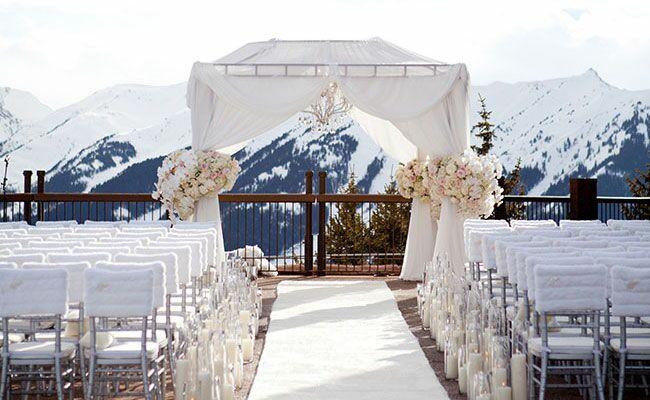 Fur Wedding Decor Is Having A Major Moment See The Photos