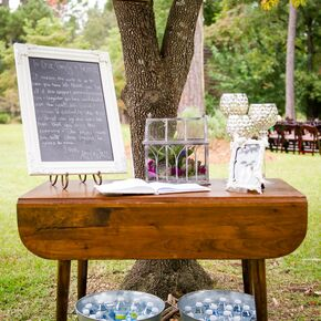 Rustic Purple Wedding Decorations Accents