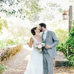 Summer Garden Wedding At Campovida