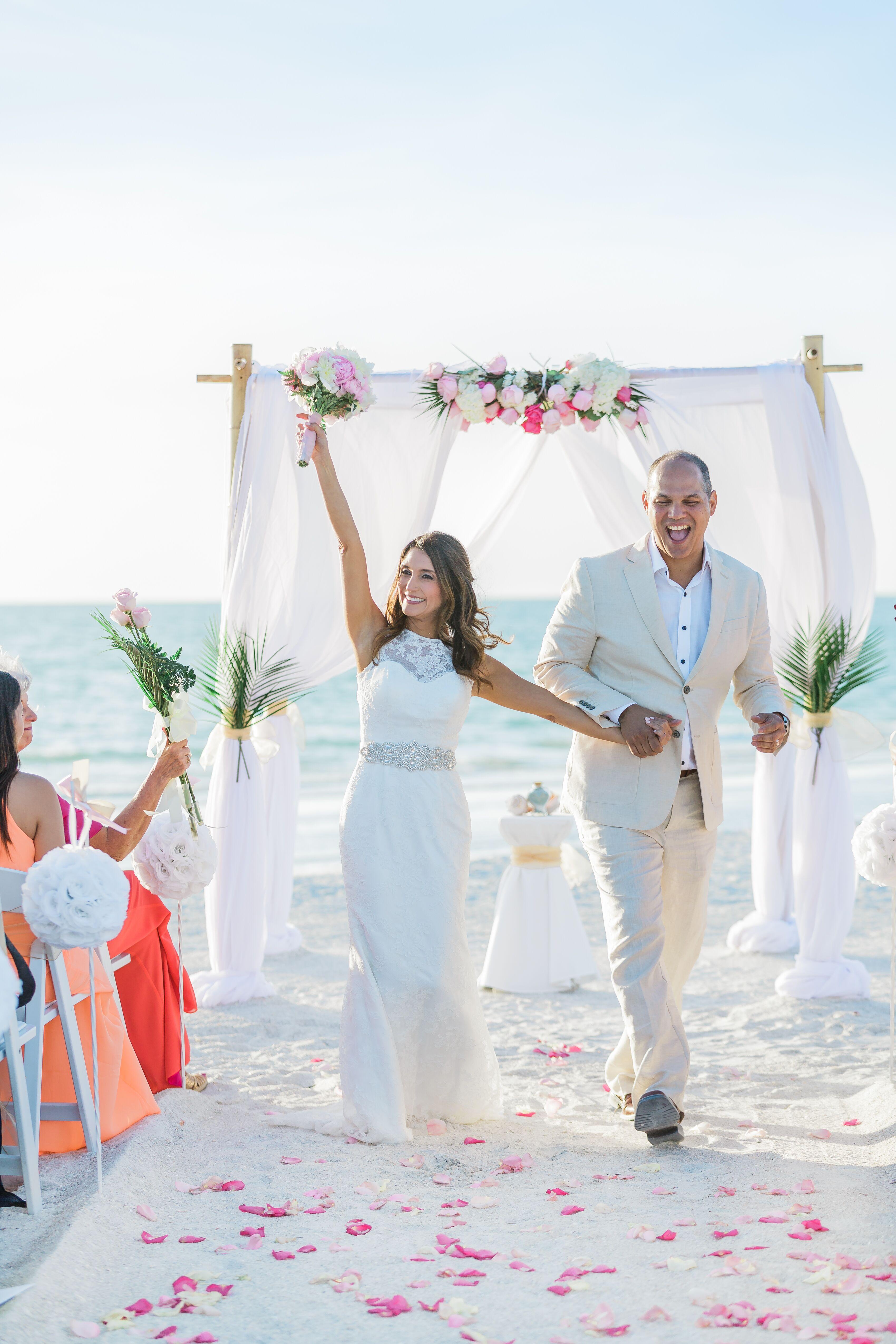 Black Beach Wedding Photos