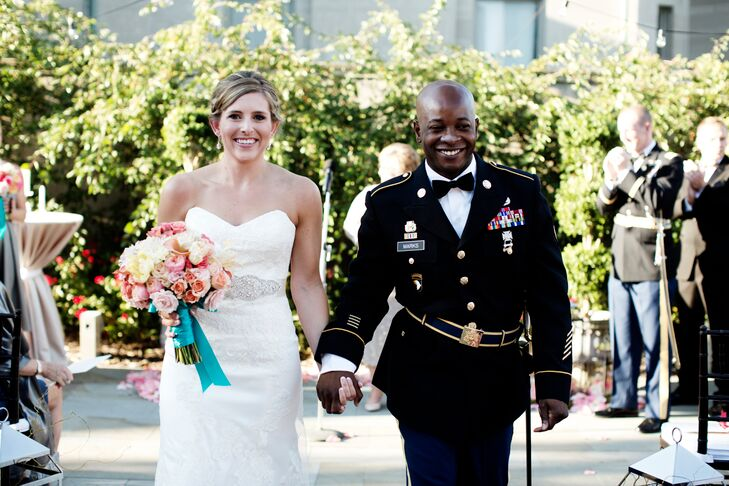 Kyle Wanted To Wear His U S Army Dress Blues Which Required The Wedding Be