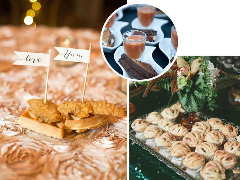 Winter wedding food trends