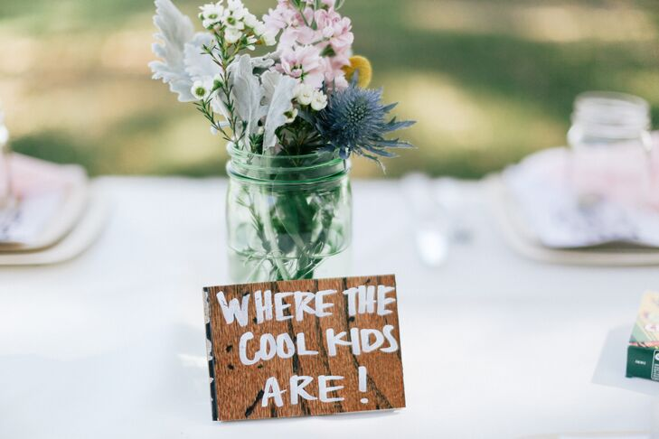 DIY 'Where the Cool Kids Are' Table Name