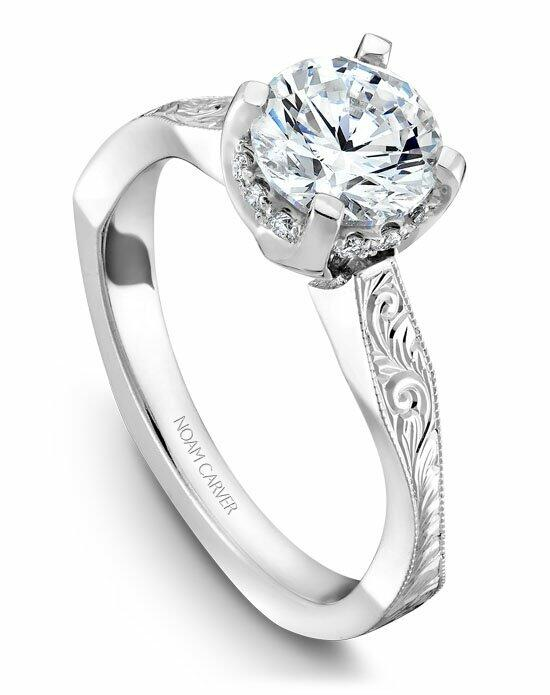 Noam Carver B020-04WSE-100A Engagement Ring photo