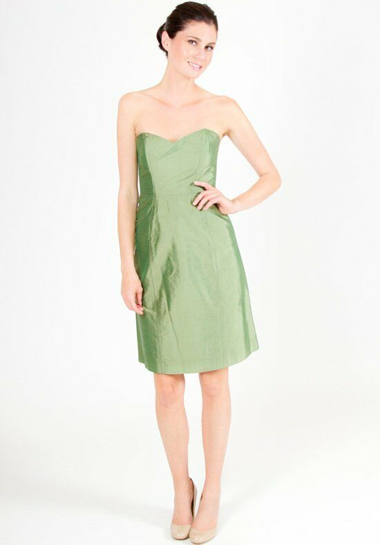 LulaKate Pearl Green Bridesmaid Dress photo
