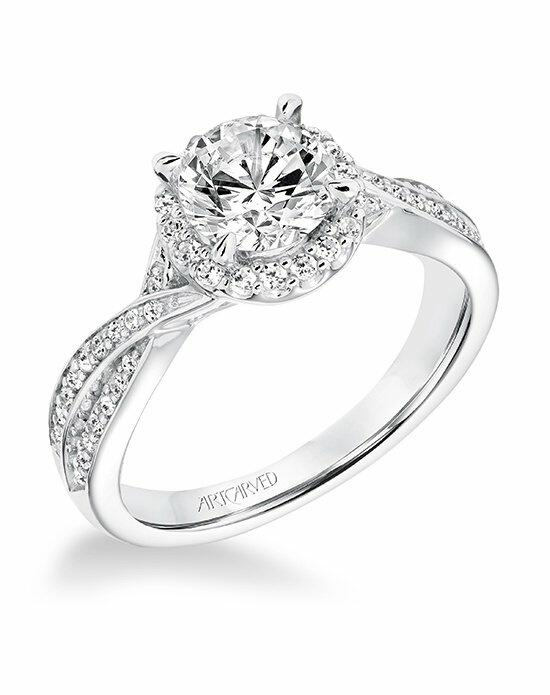 ArtCarved 31-V685ERW-E Engagement Ring photo