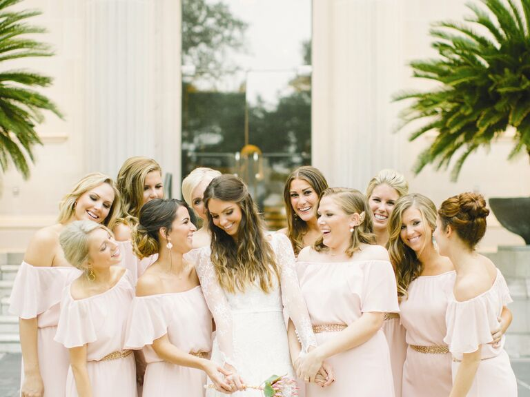 How Many Bridesmaids Are Too Many?