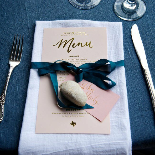 Elegant Menu Cards
