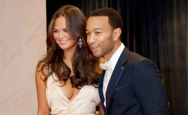 Chrissy Teigen and John Legend: Shutterstock