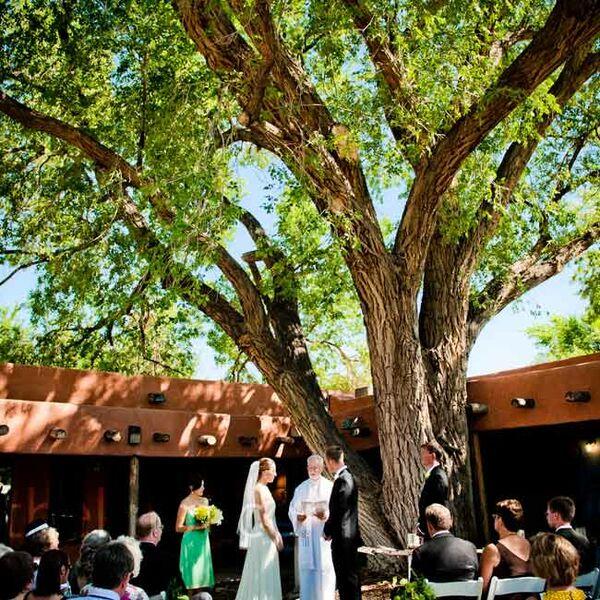 Garden Wedding Ceremony: Wildflower Wedding Favors