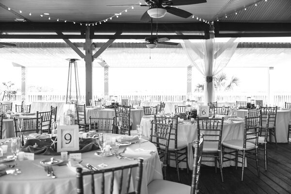 Tented Reception at Omni Oceanfront Hotel