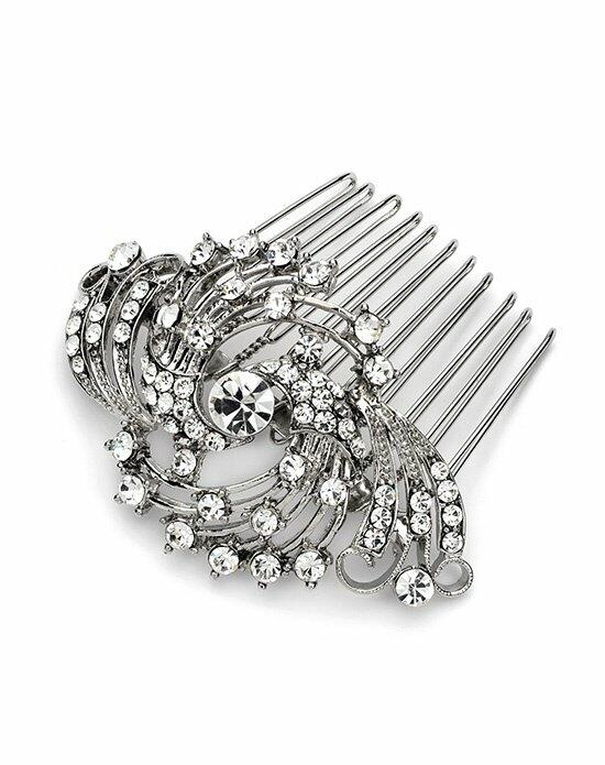 USABride Joleen Silver Comb TC-2225 Wedding Pins, Combs + Clips photo