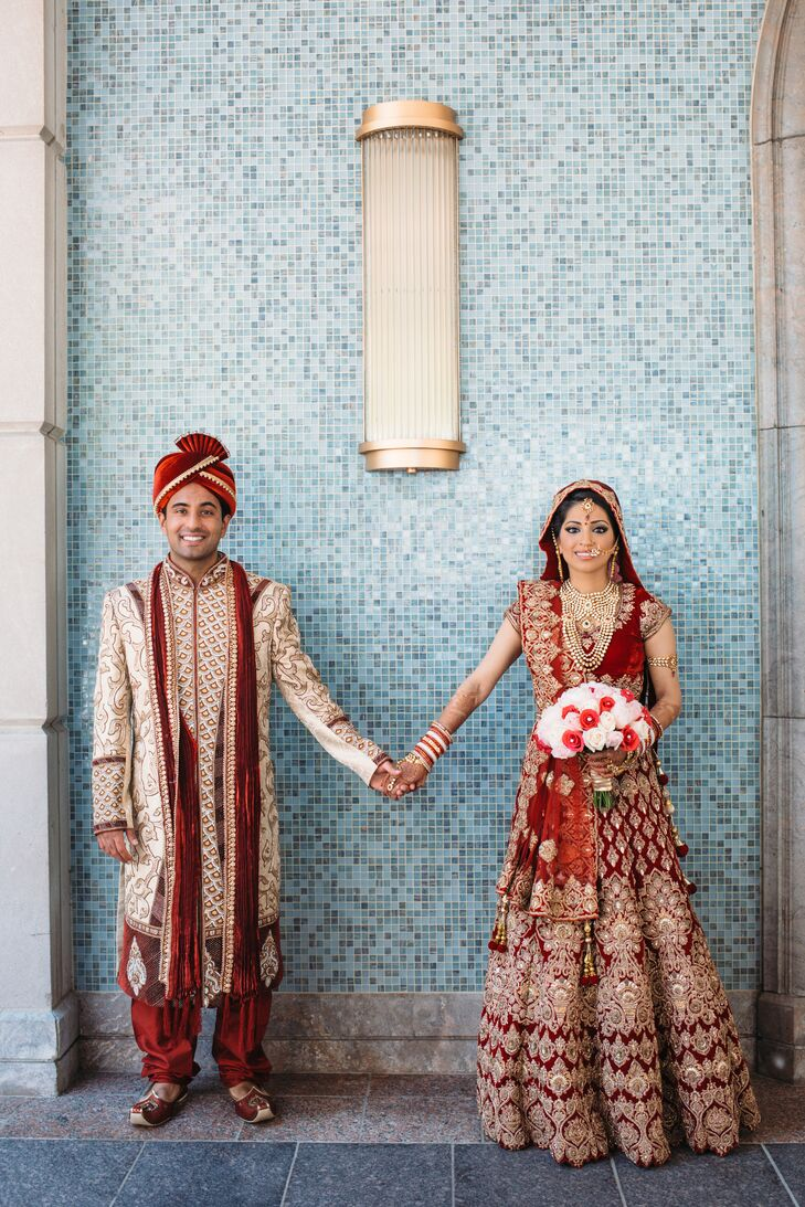A Luxe Indian Wedding at The Henry in Dearborn, Michigan