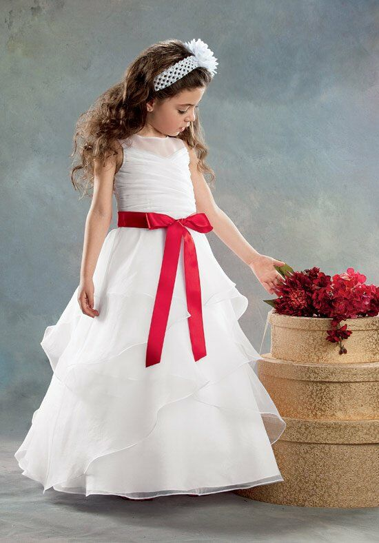 Sweet Beginnings L396 Flower Girl Dress photo