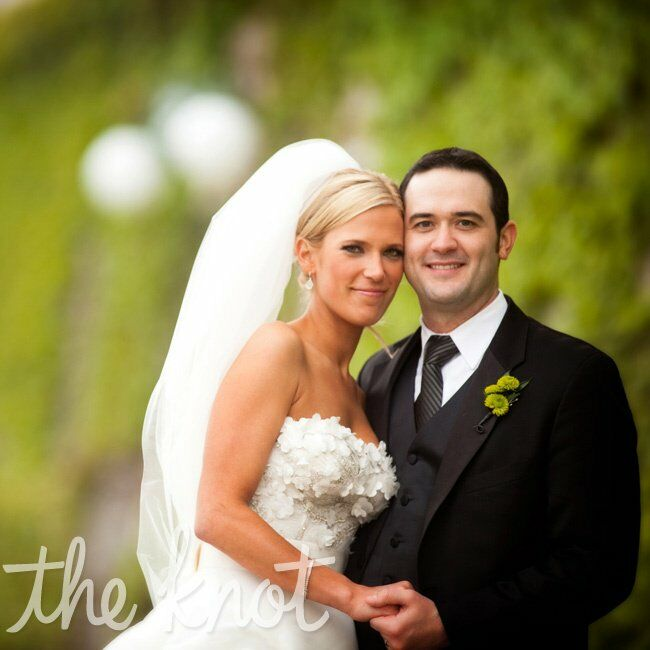 The Bride Ashley Brumbaugh, 28, an assistant at PNC Bank The Groom Michael (Mike) Chapman, 28, a sales representative at Hill-Rom  The Date May 21  As