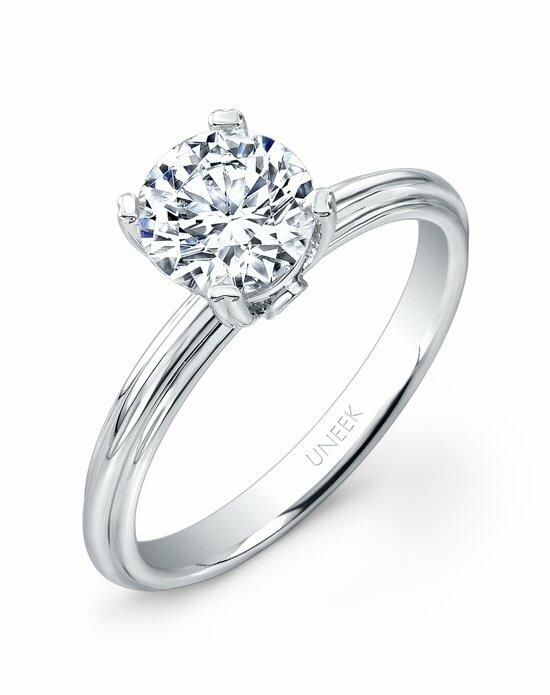 Uneek Fine Jewelry USMS02-6.5RD Engagement Ring photo