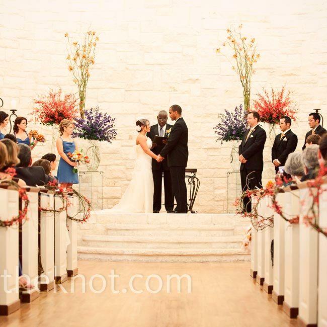 Indoor Altar Decorations For Weddings: Briscoe Manor Wedding Ceremony