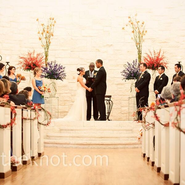 Wedding Altar Dance: Hanging Chair Markers