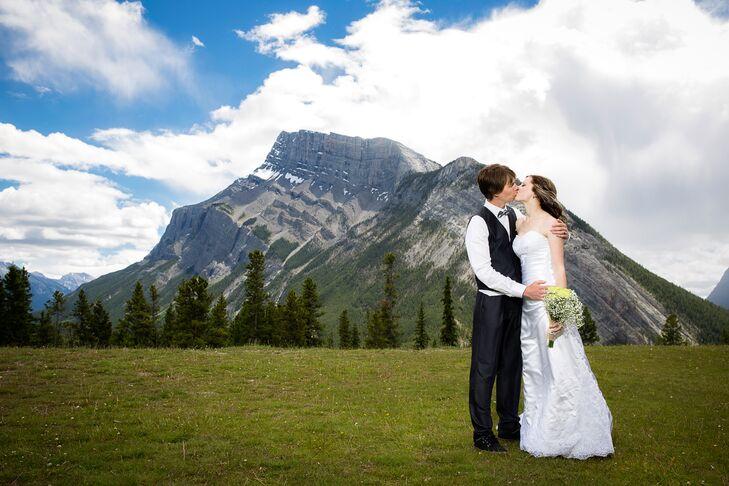 Tunnel mountain reservoir wedding hairstyles