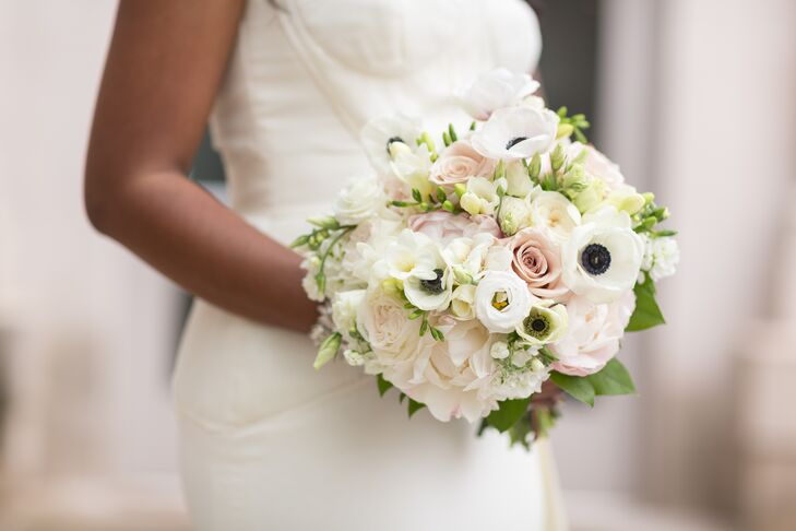 Rose, Anemone And Peony Bridal Bouquet