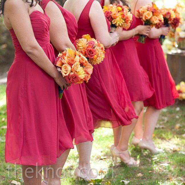 A Vibrant Vineyard Wedding In Windsor, CA