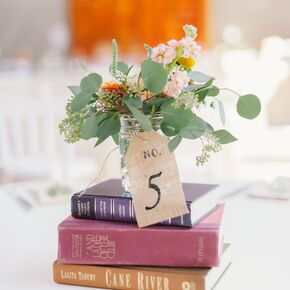 Vintage Wedding Guest Books