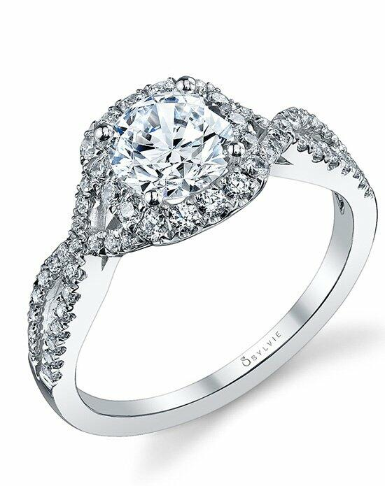 Sylvie Collection S1078 Engagement Ring photo