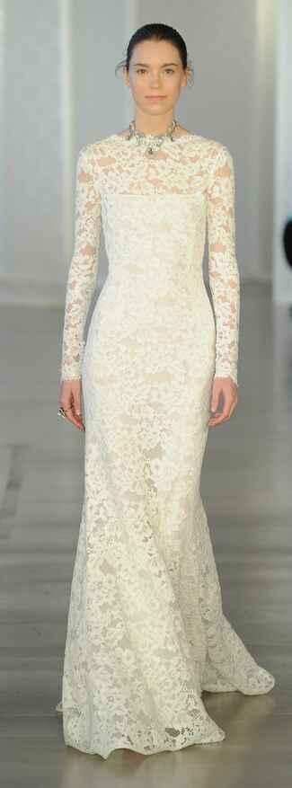Oscar de la renta spring 2017 collection bridal fashion for Valentino short wedding dress