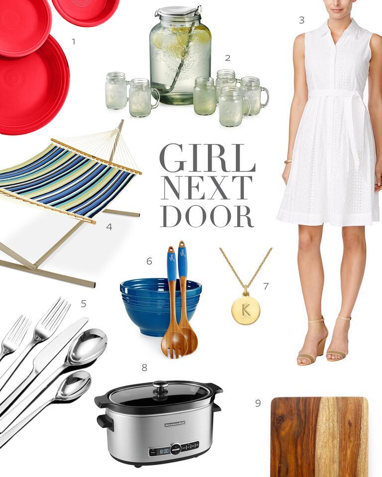 Girl Next Door Outdoor Bridal Shower Theme