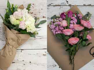 Same-day bouquet delivery services