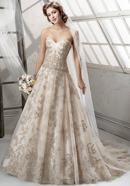 Sottero and Midgley Garland Wedding Dress photo