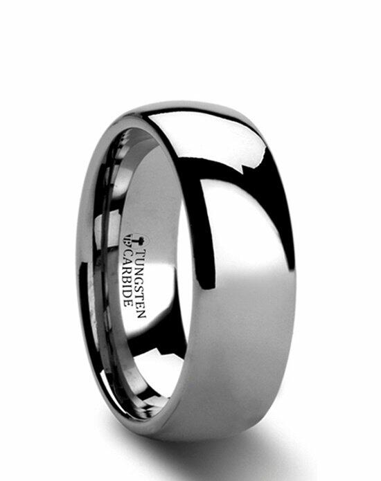 Larson Jewelers DOMINUS Domed Tungsten Carbide Ring - 2 - 12 mm Wedding Ring photo