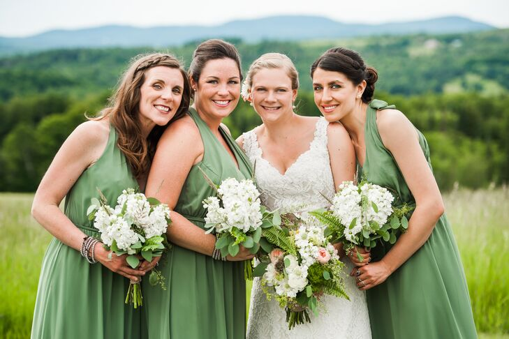 A Rustic, Natural Wedding At The Inn At Mountain View Farm