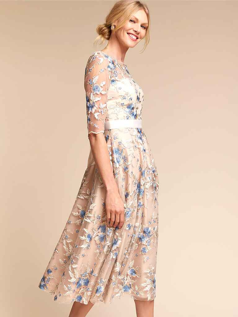 What to wear to a spring wedding 46 spring wedding guest for Garden wedding dresses guest