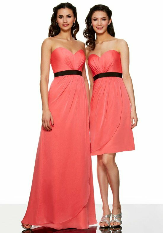 MOONLIGHT BRIDESMAIDS MT9274 Bridesmaid Dress photo